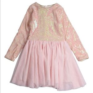 Billieblush Sequin And Pearl Party Dress Size 5